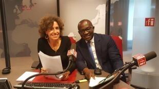Emmanuelle Bastide et Didier Acouetey en 2018.