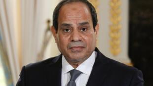 Abdel Fattah al-Sissi, Presidente do Egipto.