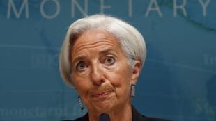 IMF head Christine Lagarde