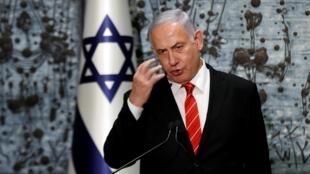 លោកនាយករដ្ឋមន្ត្រីអ៊ីស្រាអែល Benyamin Netanyahu ថ្ងៃទី ២៥កញ្ញា ២០១៩