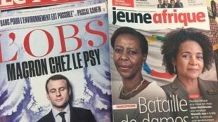 Os destaques das revistas francesas.