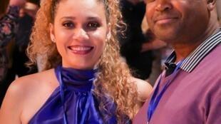 Solange Cesarovna e Lungile Jacobs no VI Fórum Mundial da Música