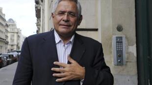 Lawyer Robert Bourgi in Paris on September 12, 2011.