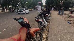 Taxis 'Jakarta' in Dakar, Senegal