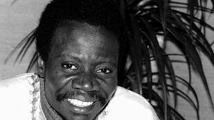 L'écrivain congolais Sony Labou Tansi, né à Kimwenza (Léopoldville) le 5 juillet 1947 et mort à Brazzaville le 14 juin 1995.