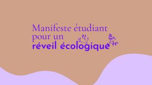 Le «manifeste étudiant pour un réveil écologique» appelle au changement dans les entreprises qui ne respectent pas la planète.