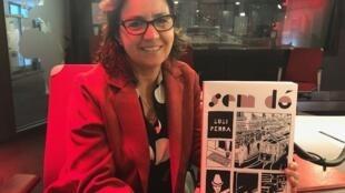 A ilustradora e cartunista Luli Penna.
