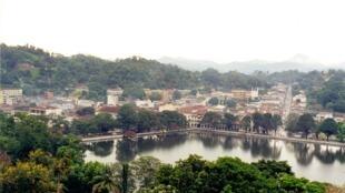 Kandy in Sri Lanka's Central Province