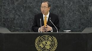 Пан Ги Мун на 68-й сессии ГА ООН