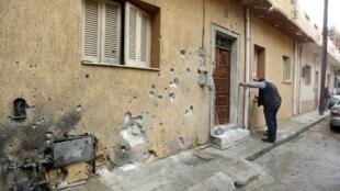 Tripoli, 13 de Fevereiro de 2020. Apesar do anúncio de cessar-fogo, há relatos frequentes de combates.