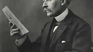 Romain Rolland (1866 - 1944) obtuvo el premio Nobel de Literatura en 1915.