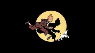 Still running: Tintin has been on the trail of the bad guys since 1929.