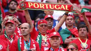 Adeptos da selecção portuguesa