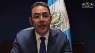 Jimmy Morales Shugaban kasar Guatemala