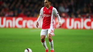 Abdelhak Nouri dan wasan tsakiya na Ajax da ya samu tabuwar kwakwalwa ta dindindin baya ga fadawa doguwar suman ta kusan shekaru 3