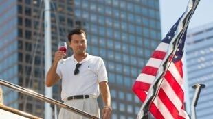 """Leonardo di Caprio, em """"Lobo de Wall Street""""."""
