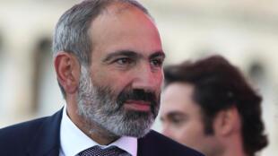 Le Premier ministre Nikol Pachinian.