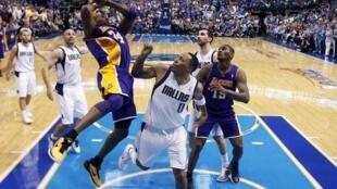 NBA Western Conference semi-final basketball playoff