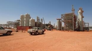 In Amenas gas field in the Algerian desert, site of the hostage crisis