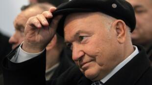 Sacked mayor of Moscow, Yuri Luzhkov.