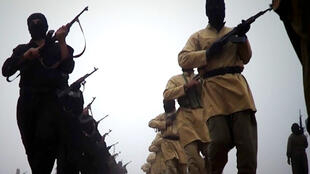 Les combattants de l'EIIL d'après une vidéo diffusée le 4 janvier 2014.