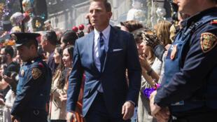 Daniel Craig alias James Bond dans 007 Spectre.