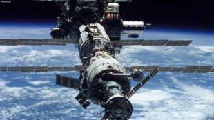 图为太空飞行器