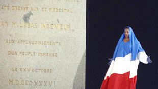 Jessye Norman biểu diễn nhân Lễ kỷ niệm 200 năm Cách mạng Pháp.