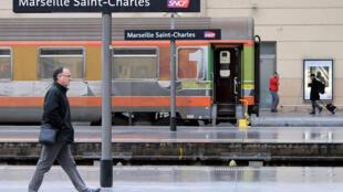 Вокзал Сен-Шарль в Марселе