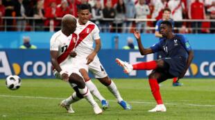 Команда Перу во втором тайме не смогла реализовать голевые моменты
