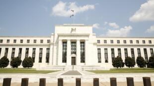 Le siège de la Fed, à Washington.