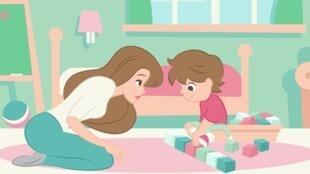 Video que explica cómo lograr que el niño autista mire a los ojos.