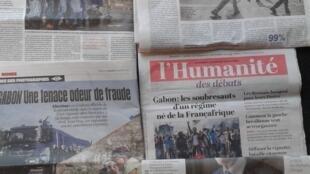 O Gabão em destaque na imprensa francesa