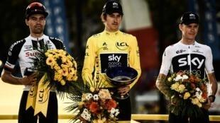 Гейрант Томас обеспечил себе победу еще в предыдущих этапах велогонки: от ближайшего соперника его отделяли почти две минуты