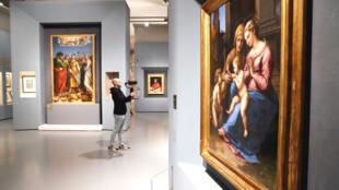 Mặc dù có virus corona, nhưng triển lãm tại Roma về Raphael (Raffaello) đã bán hơn 50.000 vé