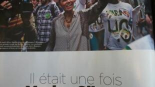 Reportagem sobre Marina Silva na revista de fim de semana do Le Monde.