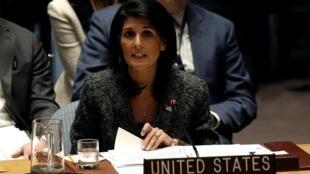 Đại sứ Mỹ tại Liên Hiệp Quốc Nikki Haley.