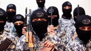 Captura de pantalla de un video difundido por el grupo Estado Islámico.