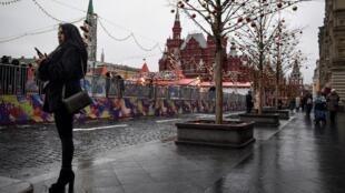 Le peu de neige tombée à Moscou a déjà fondu et les températures sont anormalement élevées.