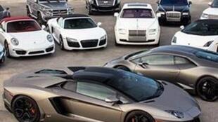 خودروهای لوکس قاچاق در ایران