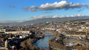 Tbilissi, capitale de la République de Géorgie.