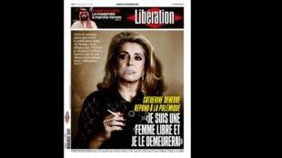 Pedido de desculpas da atriz Catherine Deneuve às vítimas de agressão sexual que ficaram chocadas com o manifesto assinado por ela e outras cem mulheres, defendendo a liberdade de importunar, é a manchete do jornal Liberation desta segunda-feira (15).