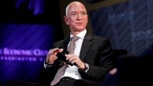Jeff Bezos a annoncé lundi 17 février la création d'un «fonds Bezos pour la terre» pour financer la protection de l'environnement.