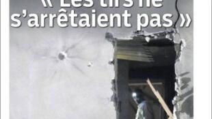 Capa do Le Parisien e do Aujourd'hui en France de hoje.