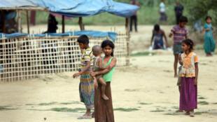 Người Rohingya tại bang Rakhine, Miến Điện. Ảnh ngày 31/03/2018.