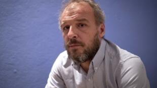 Sébastien Chadaud-Pétronin, le fils de l'otage française au Mali Sophie Pétronin.