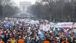Митинг противников гей-браков 13 января 2013 года