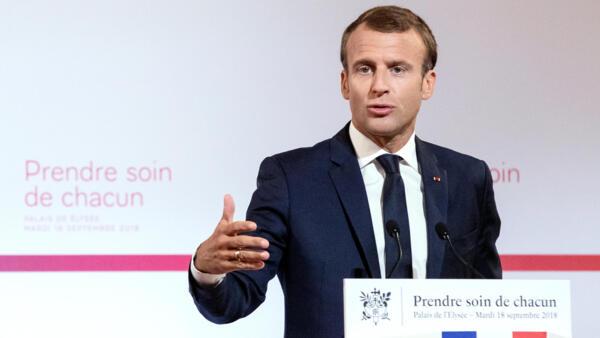 Macron quer revolucionar sistema de saúde