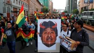 Oposição promete intensificar protestos contra a reeleição de Evo Morales (27/10/2019)