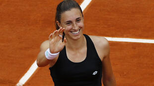 Petra Martic reached the last 16 at the French Open for the second time in three years.